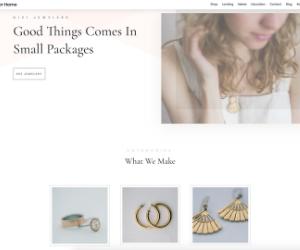 Divi - Jeweler eCommerce WP theme