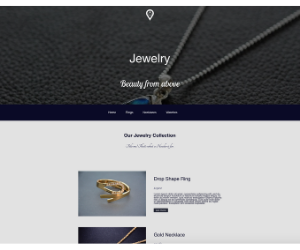 Divi Jewelry Store Layout Pack