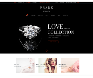 Frank Jewelry eCommerce Theme