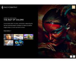 Fullscreen Artist WordPress Theme