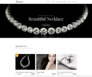 Jewelrica Jewelry eCommerce Theme