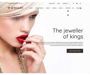 Jewelry Responsive eCommerce WordPress Theme