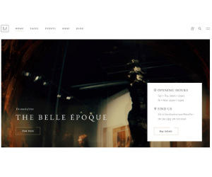 Musea WordPress Gallery Theme