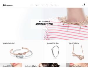 Prospero eCommerce Jewelry Theme
