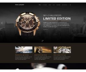 The Luxury - Dark WP eCommerce Theme