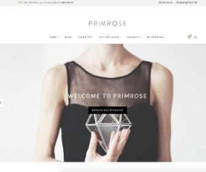 primrose ecommerce jewelry theme