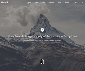 Noor AMP ready wordpress theme